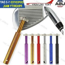 6 Golf Club Groove Sharpener Cleaneing tool for Golf Irons W