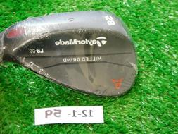 TaylorMade Milled Grind Black 58-09* Lob Wedge Low Bounce DG
